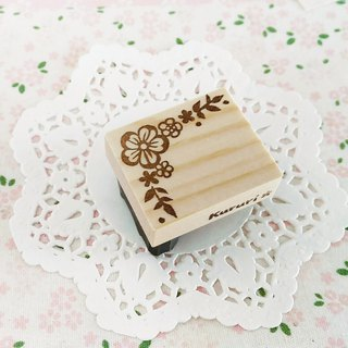 Flower corner decoration B Eraser rubber