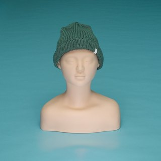 Plain - Army Green OTB011 Hand-knitted Cap