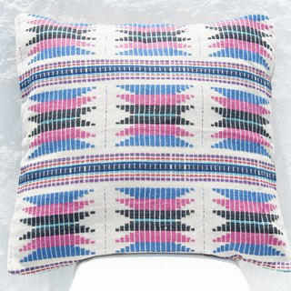 Hand-woven cloth pillowcase cotton pillowcase woven hug pillowcase handmade pillowcase - South America Bohemia