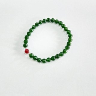 Phoebe Chen exclusive order -5mm Taiwan jade 3A bracelet