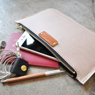 Mini Clutch Bag (Champagne Pink Gold)