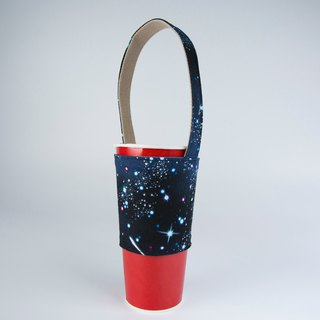 pu.sozo cloth hand made (cosmic sky) environmental protection cup sets beverage cup sets beverage bags