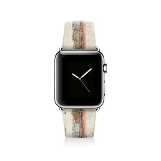 Stripe Apple watch band, Decouart Apple watch strap S009 (including adapter)