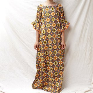 BajuTua / Vintage / African Totem Long Dress