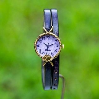 Lotus watch SS purple