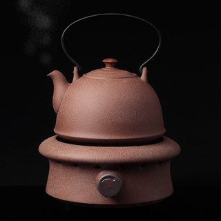 Pottery Workshop│ Jiushi Kettle Pottery Tea Set (without wood cabinet)