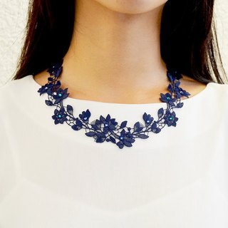 Primrose layered shiny diamond necklace - CHARMING BEAUTY