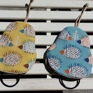 Lot of hedgehog pear type key bag 【K170626】