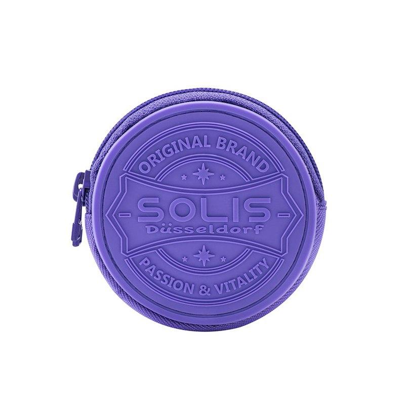 SOLIS 圓形零錢包(薰衣紫)
