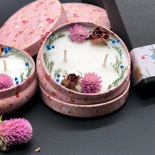 Chris Rose (Floral) Soy Candle Home Fragrance Series Gifts