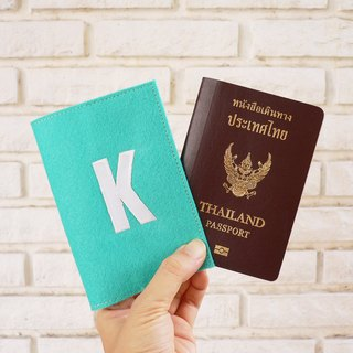 Alphabet passport cover