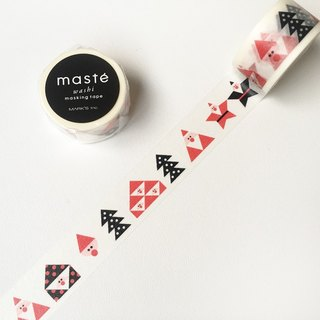 Maste Xmas and paper tapes (Triangle Santa (MST-MKT170-A))
