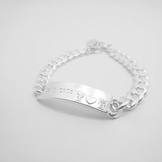 Z41 (can be typed) 925 sterling silver bracelet. Constellation symbol. Customized English alphanumeric.