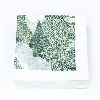Classiky x ten to sen Paper Napkin【Forest (26546-03)】