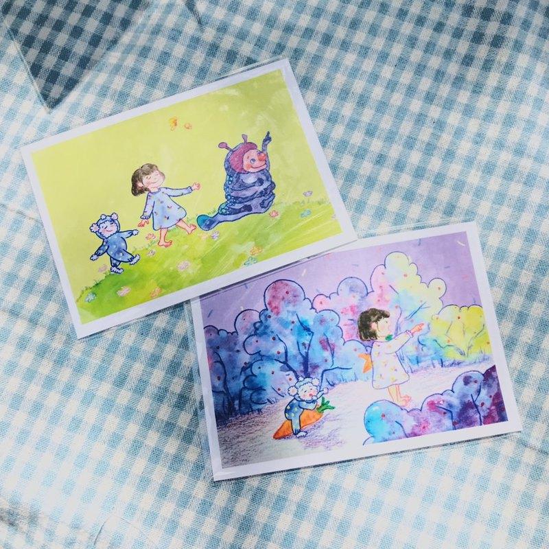 凱特比與他的好朋友 / 明信片