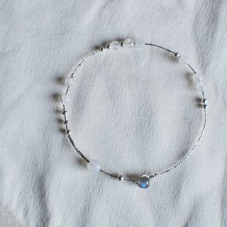Dream Ferry - Moonstone S99 sterling silver sterling silver bracelet original design