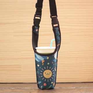 Sun Father's Drink Bag - Dark Blue