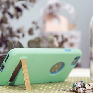 City Fashion Two-Color Case / Case for iPhone 6 Plus / 6s Plus - Fresh Green -SURFACE ™ Series