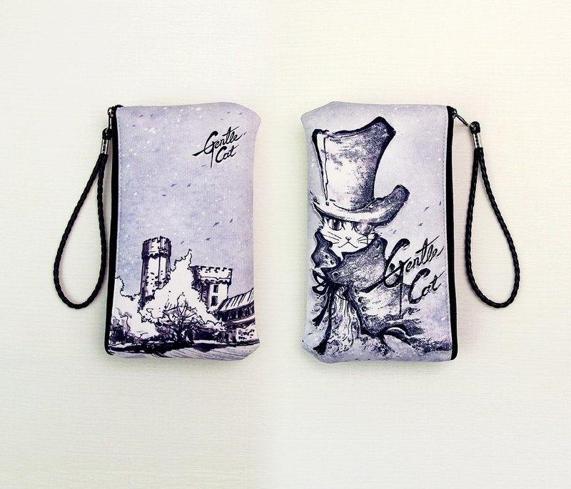 Waterproof mobile phone bag/handbag/outgoing bag/purse Sherlock Holmes can replace long neck rope