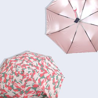 [Taiwanese Wenchuang Rain's talk] Anti-Summer Camouflage UV Tri-Fold Open Umbrella