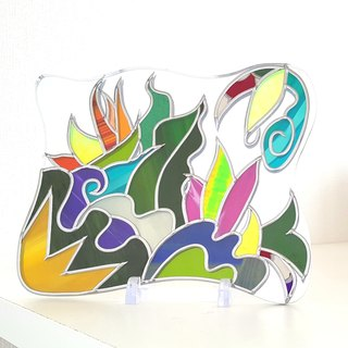 Glass Art Interior mirror Transformation Medium size