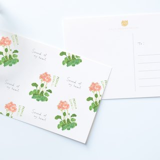 Garden Collection-Flowers postcard / buy 3 get 1