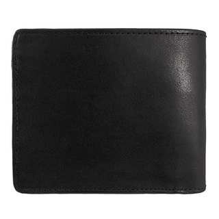 Deep black Folded wallet