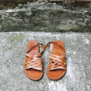 ~ After the garden ~ homemade sandals custom models JC-12 (style can be customized regardless of men and women)