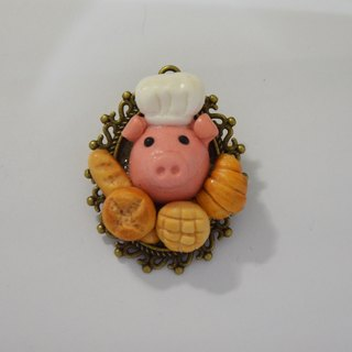 Pig Chef Badge