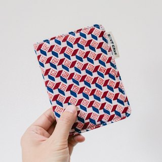 Brut Cake handmade textiles - Limited Edition Print Kofu passport holder --5