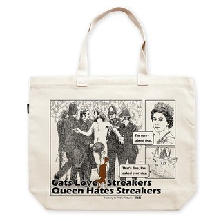 AMO®Original Larage Tote Bags/AKE/Cats love streakers