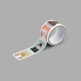 Dailylike Stamp Paper Tape (single roll)-01 Animals, E2D03954