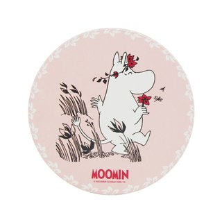 Moomin Moomin authorization - water coaster: [I m in love] (circle / square)