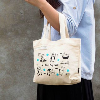 Cloth sail small tote bag / handbag / storage bag / linen