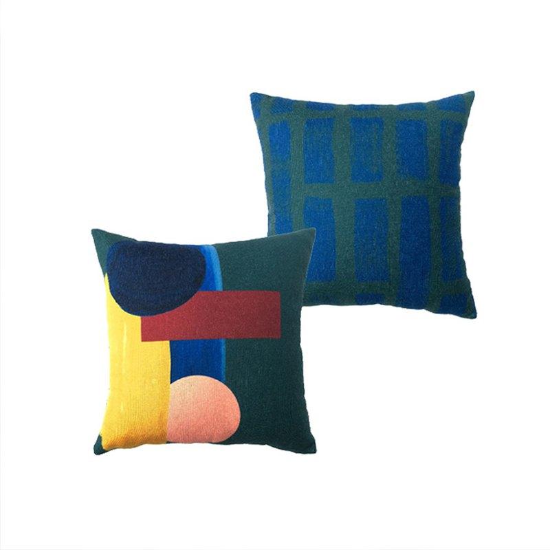 【草稿/ciaogao】原創設計軟裝水墨北歐民宿INS風格抱枕套靠墊