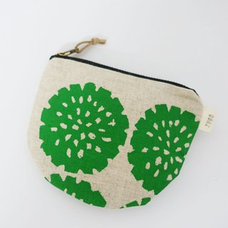 Screen printing  purse  flower