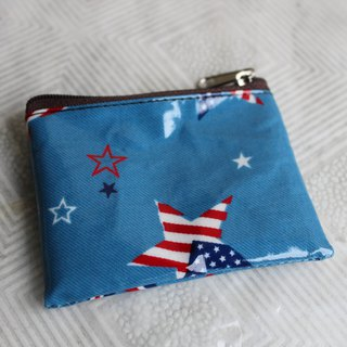2 sets of 1 random mix of cute British gentleman flag purse card package