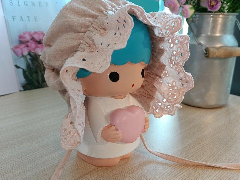 【嬰兒帽】蕾絲公主 新生兒帽 彌月禮盒 小禮盒