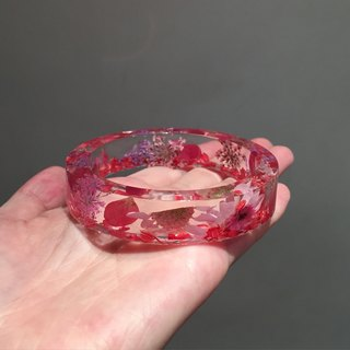 Oone_n_Only Handmade pressed flower bracelet