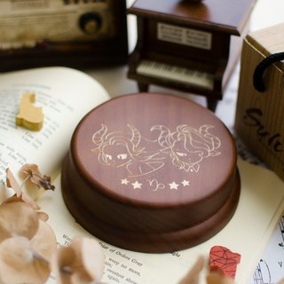 [Birthday Gift, Commemorative Gift, Christmas Gift] 12 Constellation Capricorn / Music Box