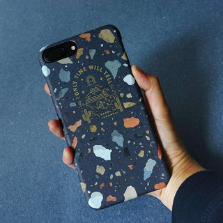 Cosmic dark blue color stone - mobile phone case iphone 7P/ 8P