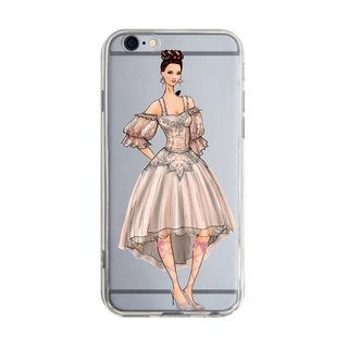 Girl in white dress trend Samsung S5 S6 S7 note4 note5 iPhone 5 5s 6 6s 6 plus 7 7 plus ASUS HTC m9 Sony LG G4 G5 v10 phone shell mobile phone sets phone shell phone case