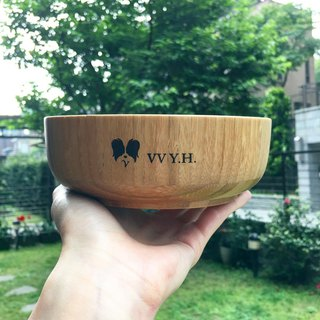 VV YH Bamboo Bowl - Customizable