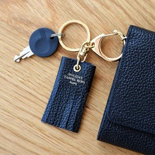 PLEPIC beautiful holiday tassel keychain bag tag - silk black, PPC93969