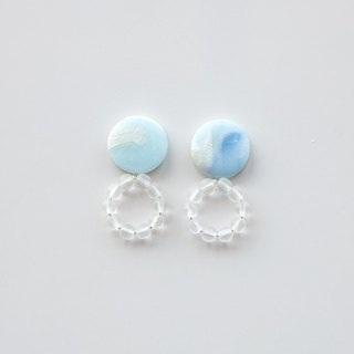 Small ring earrings / earrings