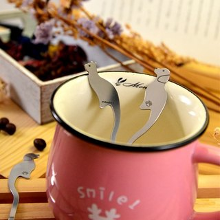 【Desk + 1】 Cat stir + Wang stirring mixing spoon - Wang Mow good friends into the group