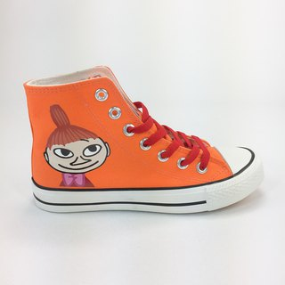 Moomin Moomin license - canvas shoes (orange red shoes / women's shoes limited) -AE03