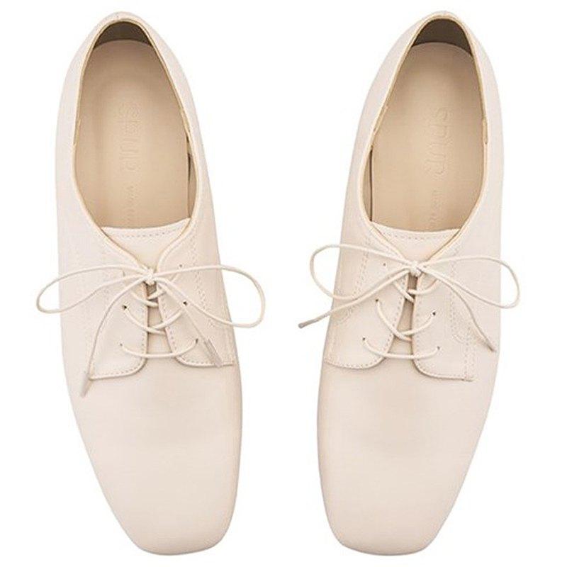 SPUR 方頭牛津鞋 PA8012 Cream