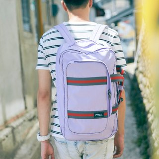 TRAVO 1.5 - TRAVEL LAPTOP BACKPACK - Iris Purple