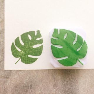 Which hand-stamped seal [Plant _ Leaf 01]